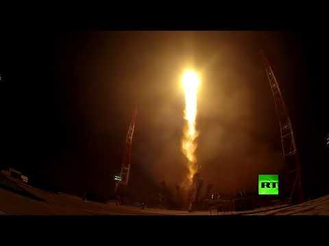 فلسطين اليوم - شاهد القوات الفضائية الجوية تطلق سويوز2 بنجاح