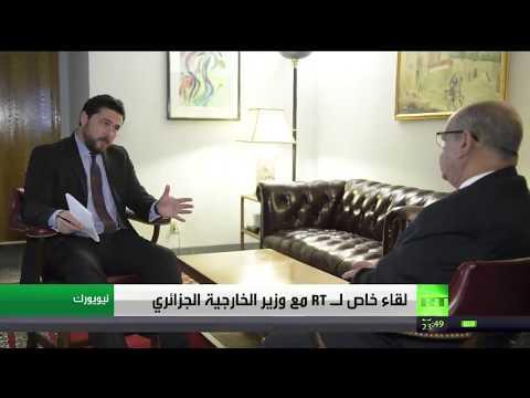 فلسطين اليوم - عبد القادر مساهل يدعو إلى عودة سورية إلى جامعة الدول العربية