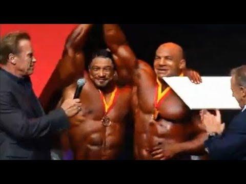 فلسطين اليوم - بالفيديو  بيغ رامي يتوج بذهبية بطولة أرنولد كلاسيك لكمال الأجسام
