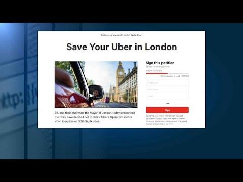 فلسطين اليوم - عريضة إلكترونية ضد سحب ترخيص أوبر في لندن