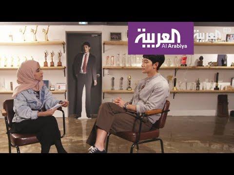 فلسطين اليوم - شاهد  لقاء مع الفنان الكوري الجنوبي rain