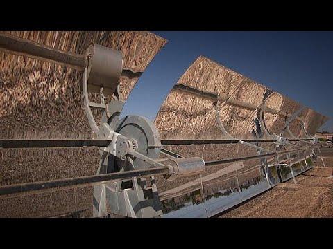 فلسطين اليوم - شاهد محطة توليد الطاقة الشمسية في المغرب