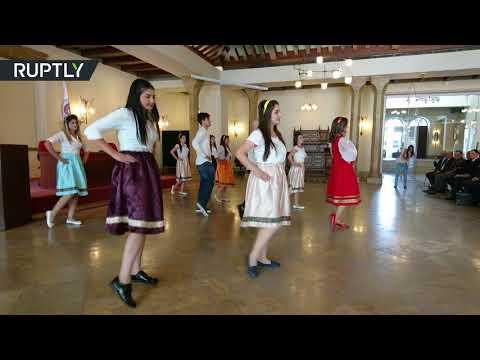 فلسطين اليوم - افتتاح المركز الروسي في جامعة دشمق