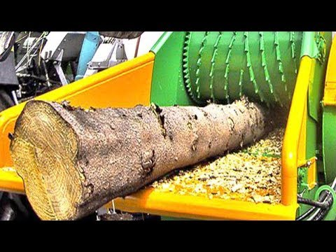 فلسطين اليوم - شاهد آلات تقطيع الخشب مثيرة للإعجاب من الطراز العالمي