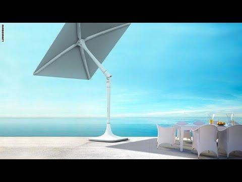 فلسطين اليوم - شاهد سان فلاور مظلة تتبع أشعة الشمس لتحميك منها