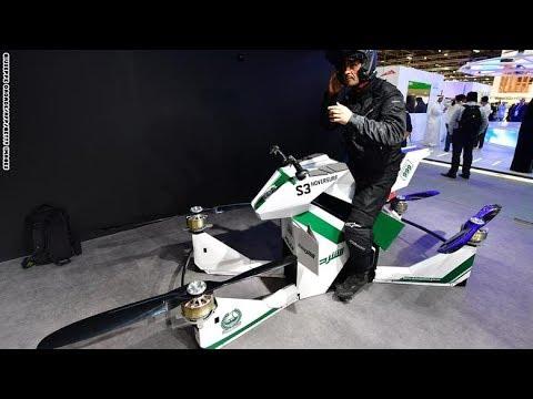 فلسطين اليوم - شاهد ابتكار دراجة طائرة لتجنب الازدحام المروري