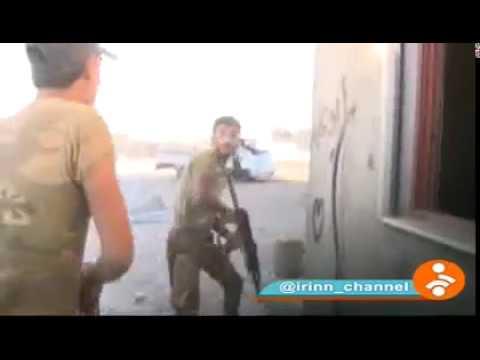 فلسطين اليوم - فريق التلفزيون الإيراني يتعرّض إلى هجوم من قبل داعش