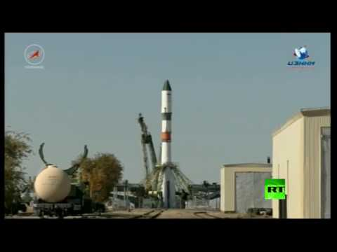 فلسطين اليوم - لحظة إطلاق شاحنة روسية إلى المحطة الفضائية الدولية