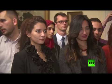 فلسطين اليوم - وفد مصري كبير في مهرجان الشباب العالمي