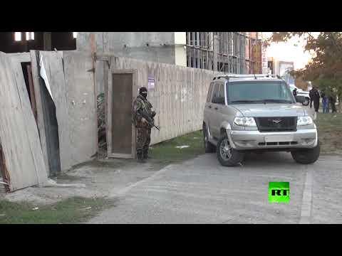 فلسطين اليوم - قوات الأمن الروسية يفككون عدة مخابئ لـداعش في محج قلعة