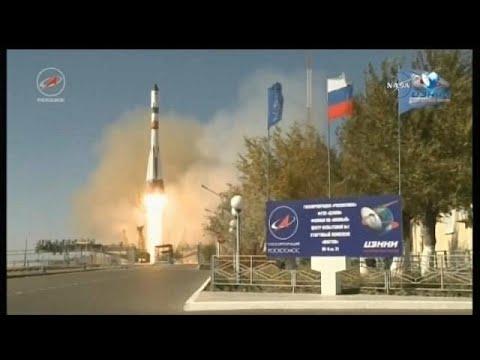 فلسطين اليوم - إرسال مركبة فضاء روسية في مهمة إمداد للمحطة الدولية
