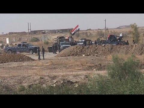 فلسطين اليوم - مواجهات بين الجيش العراقي والبشمركة خارج كركوك