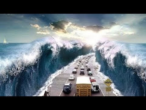 فلسطين اليوم - شاهد أكبر 5 أمواج تسونامي ضربت البشرية في التاريخ