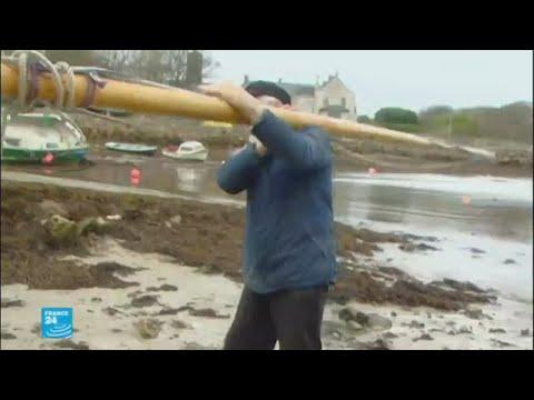 فلسطين اليوم - شاهد إعصار يهدّد إيرلندا