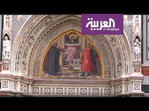 فلسطين اليوم - شاهد جولة داخل معرض أوفيزي في فلورنسا