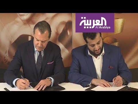 فلسطين اليوم - شاهد مقابلة تركي آل الشيخ بعد استضافة نهائي بطولة محمد علي كلاي