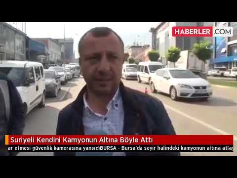 فلسطين اليوم - لحظة انتحار سوري بطريقة مروعة في تركيا