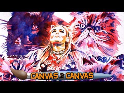 فلسطين اليوم - شاهد رسام الاتحاد يبدع بلوحة فنية جديدة للمصارعة ناتاليا