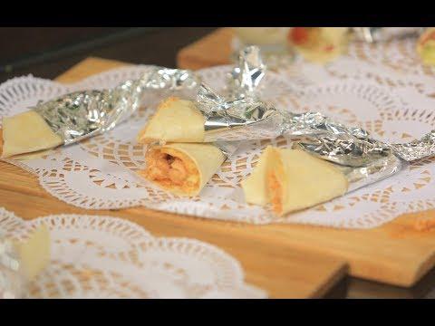 فلسطين اليوم - شاهد طريقة إعداد سندويتش رول دجاج بالعسل والباربكيو