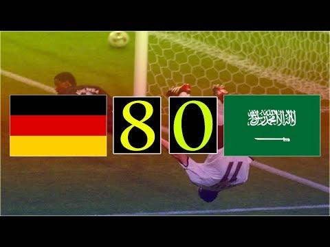 فلسطين اليوم - شاهد أكبر 10 انتصارات في تاريخ كأس العالم