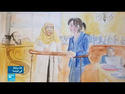 فلسطين اليوم - شاهد والدة الشقيقين مراح تمثُل أمام المحكمة في فرنسا