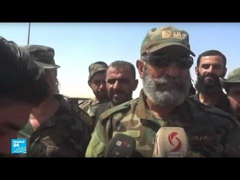 فلسطين اليوم - شاهد مقتل قائد اللواء 104 العميد عصام زهر الدين في دير الزور