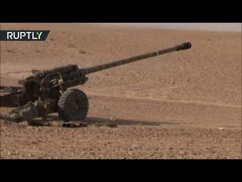 غارات جوية وقصف مدفعي على داعش في البوكمال
