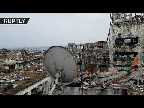 فيديو من ماراوي الفلبينية بعد أسابيع من طرد داعش منها