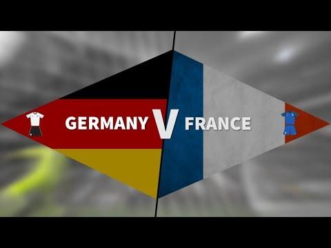 شاهد بث مباشر لمباراة ألمانيا وفرنسا الودية