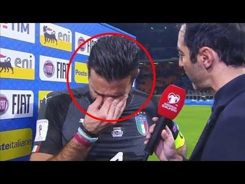 عندما يبكي نجوم وأساطير كرة القدم