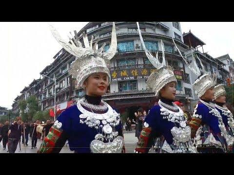 بالفيديو هكذا يحتفل شعب المياو الصيني بالسنة التقليدية الجديدة