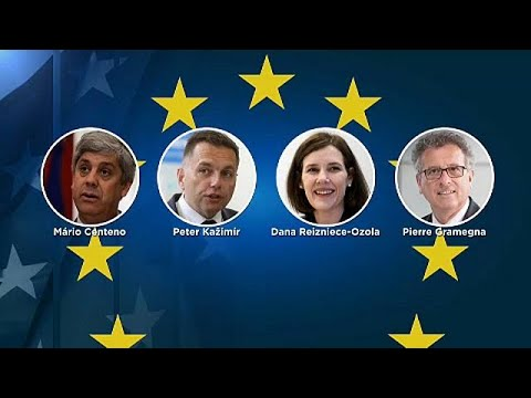شاهد دانا ريزنيس اوزولا من لاتفيا أبرز المرشّحين لرئاسة مجموعة اليورو