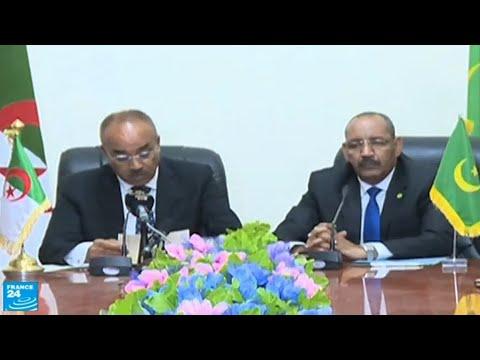 شاهد معبر بري جديد بين الجزائر وموريتانيا في منطقة ملتهبة أمنيًا