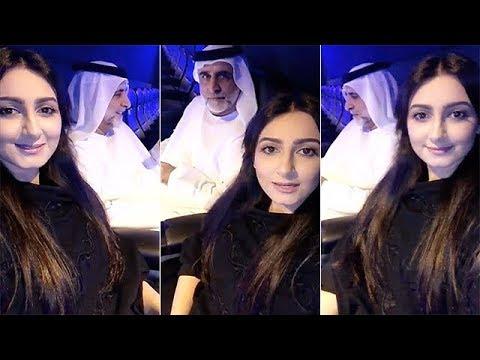 شاهد هيفاء حسين تحاول إحراج زوجها