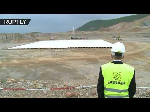 شاهد انطلاق أعمال إنشاء أول محطة ذرية في تركيا