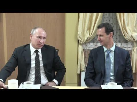 بوتين يؤكّد أنّ روسيا ستحتفظ بقاعدة عسكرية في سورية