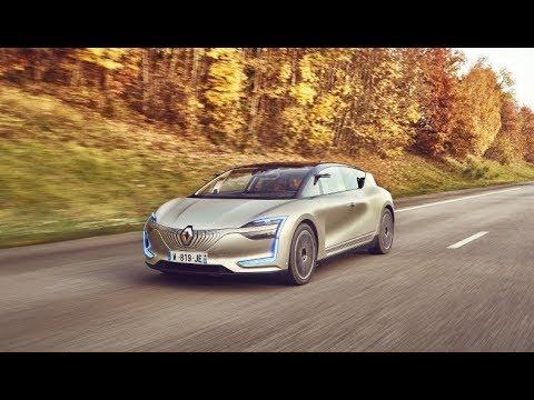 شاهد رينو تكشف عن تصميم سيارتها symbioz ذاتية القيادة