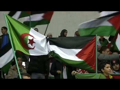 شاهد الجزائر تتضامن مع القدس وفلسطين