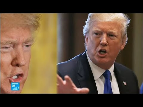 شاهد الرئيس الأميركي دونالد ترامب يؤكد أنه ليس عنصريًا