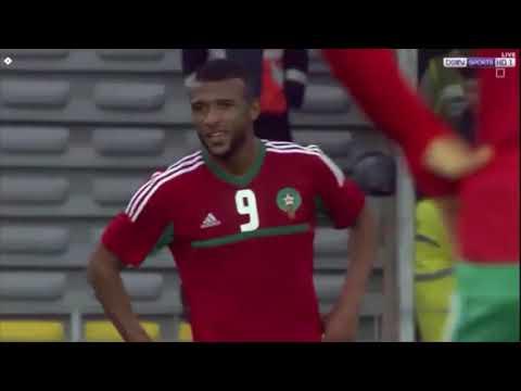 شاهد أهداف المنتخب المغربي في مباراته مع نظيره الغيني