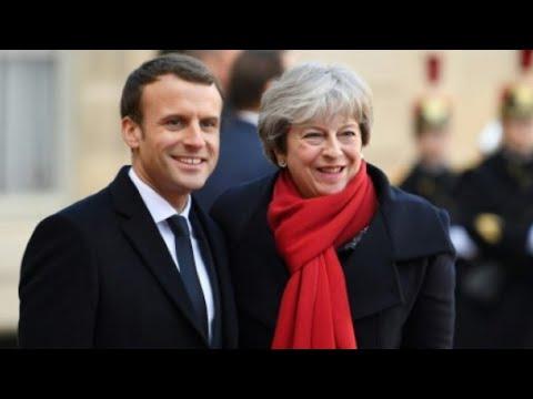 شاهد قمة فرنسية بريطانية لتوقيع معاهدة جديدة حول الهجرة