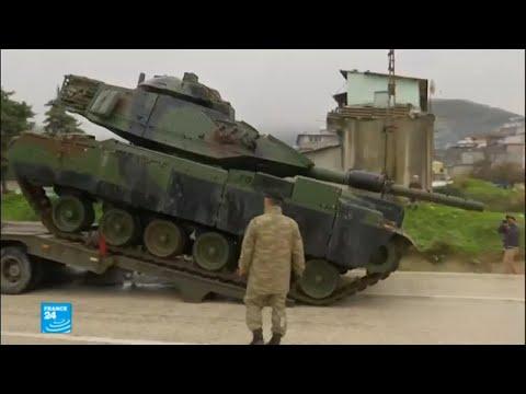 شاهد الحكومة السورية تحذر تركيا من هجوم مرتقب على عفرين
