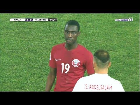 ملخص مباراة قطر وفلسطين 32