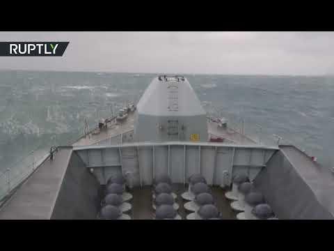 فرقاطة بريطانية تتبع سفنا روسية عبرت القنال الإنجليزي