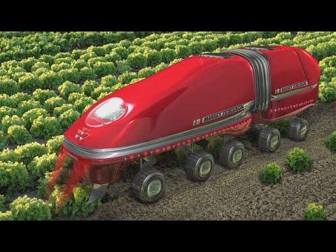 أحدث الآلات و المعدات المستقبلية للزراعة