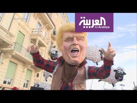 شاهد شباب سعوديون يشاركون في أعرق كرنفال أوروبي