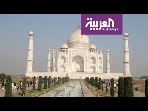 تاج محل أشهر معلم هندي عالميا