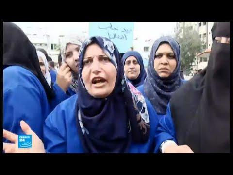 عمال النظافة في مستشفيات غزة مضربون عن العمل
