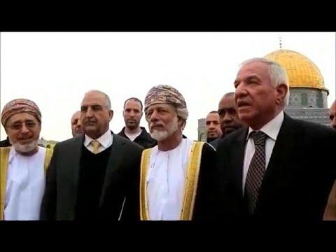 وزير الخارجية العُماني في زيارة خليجية تاريخية إلى المسجد الأقصى