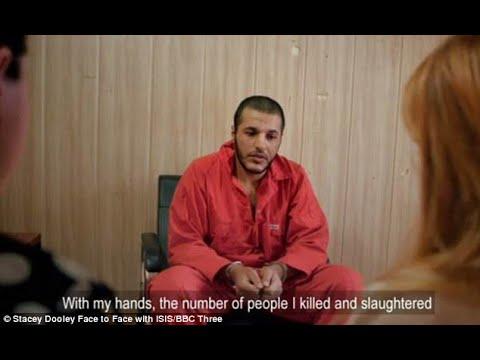 فتاة تلتقي الداعشي الذي اغتصبها وجهًا لوجه